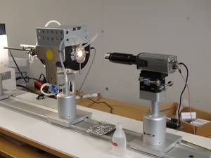 Overheating Stage Microscope