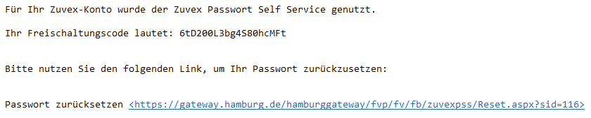 Authenitfizierungscode in der Mail ;)